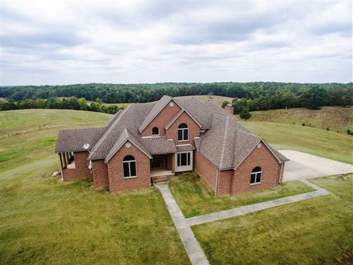 Home on 130 Acres For Sale in Butl : Poplar Bluff : Butler County : Missouri