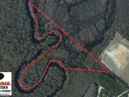 17.3 Acres of Recreational And Hun : Evergreen : Columbus County : North Carolina