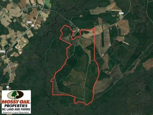 Under Contract, 1383 Acres of Tim : Lumberton : Robeson County : North Carolina