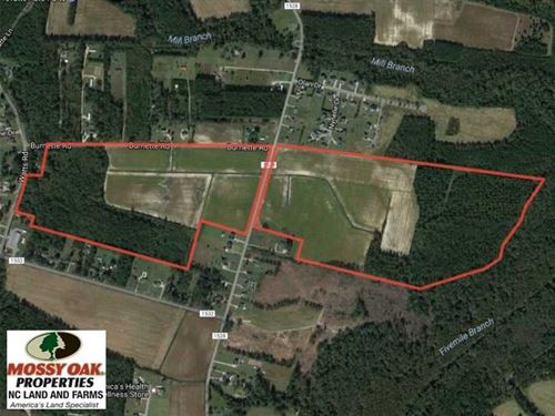 Under Contract, 131 Acres of Farm : Lumberton : Robeson County : North Carolina