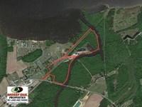 Reduced, 42 Acre Waterfront Marin : Roper : Washington County : North Carolina