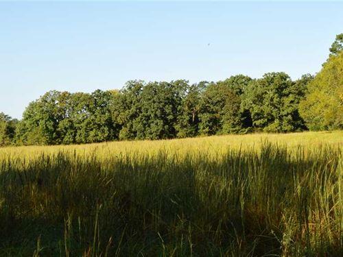 Versitile Albion Recreational Prop : Albion : Pushmataha County : Oklahoma