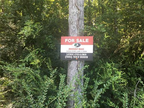 15 Acres in Ward, AR Right Off of : Ward : Lonoke County : Arkansas