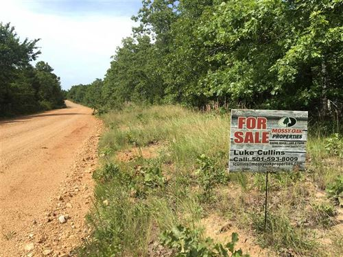 11 Wooded Acres Near Camp, AR : Camp : Fulton County : Arkansas