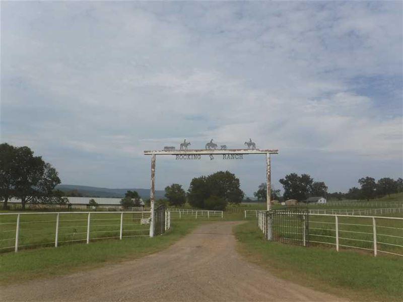 588 Acre Cattle/Horse Ranch Re : Havana : Yell County : Arkansas