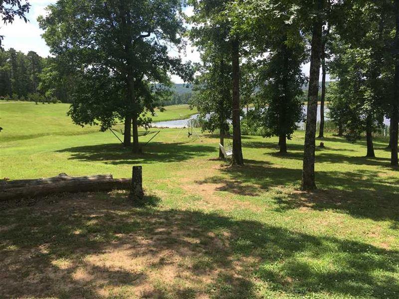 16 Acre Paradise With Home, Shop : Letona : White County : Arkansas