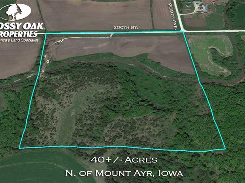 Organic Farm, Camping, Fishing And : Mount Ayr : Ringgold County : Iowa