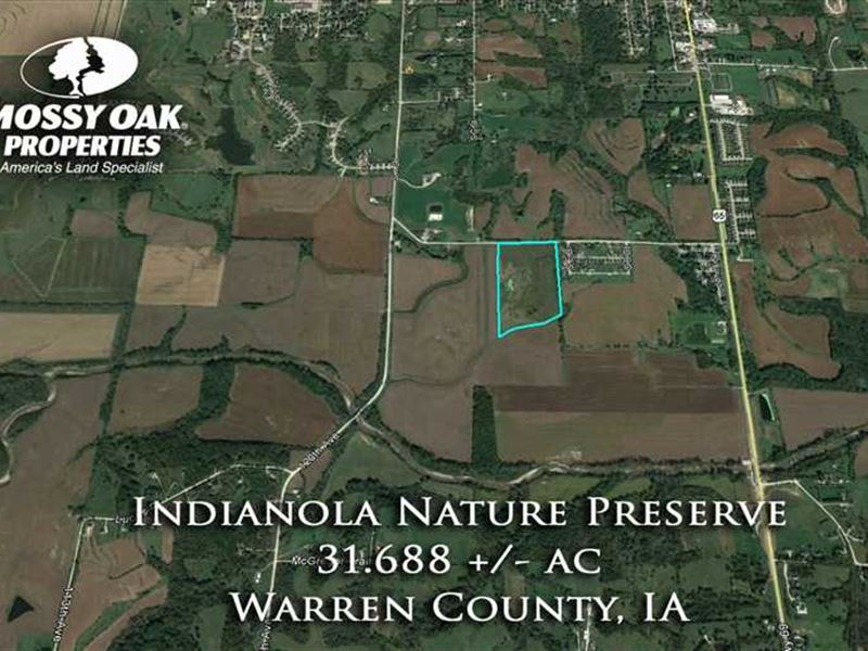 Recreational Land For Sale - India : Indianola : Warren County : Iowa