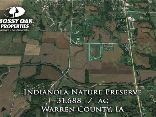 Recreational Land For Sale - India : Indianola : Warren County : Iowa