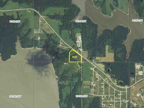 8.45 Acres, M/L, Hunting Land For : Moravia : Appanoose County : Iowa