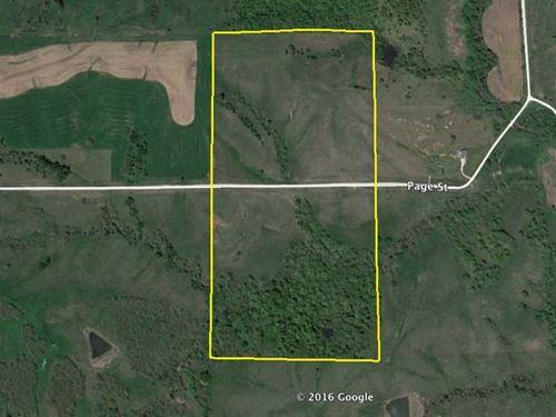 80 Acres M/L, Land For Sale in Cla : Lorimor : Clarke County : Iowa