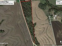 21 Acres of Hunting Timber in : Wathena : Doniphan County : Kansas