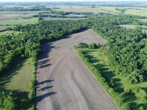 Prime Hunting Property In Ne : Powhattan : Brown County : Kansas