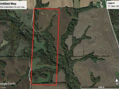 Excellent Hunting Farm in Donip : Troy : Doniphan County : Kansas
