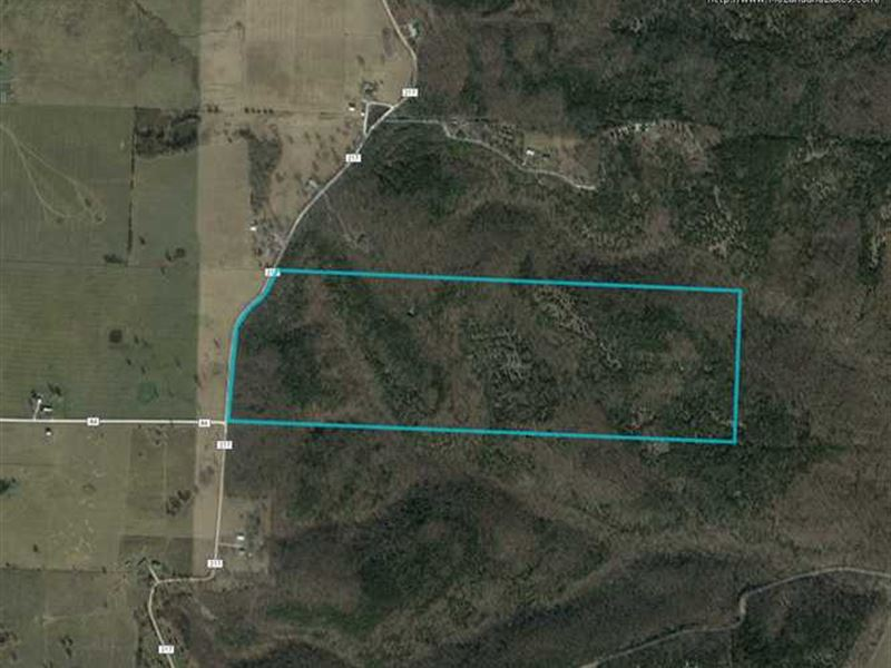Priced TO Sell, 128 Acre Hunting : Wheatland : Hickory County : Missouri