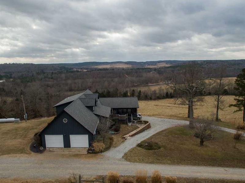 820 Acre Big Piney River Farm Redu : Licking : Texas County : Missouri