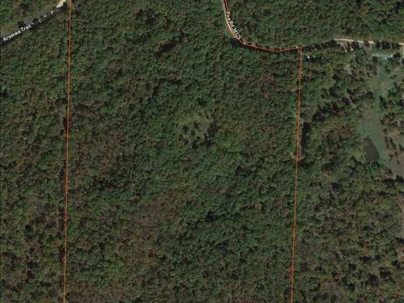 Great 67 Acre Hunting Tract in Ben : Lincoln : Benton County : Missouri