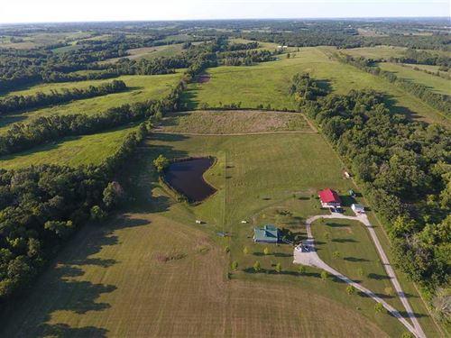 Very Nice House And Barn on 14 Acr : Trenton : Grundy County : Missouri