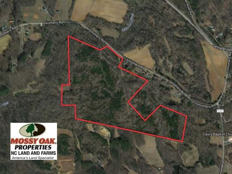 Under Contract, 81.57 Acres of Pr : Madison : Rockingham County : North Carolina
