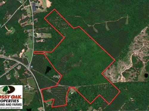 87 Acres of Development And Farm : Sanford : Lee County : North Carolina