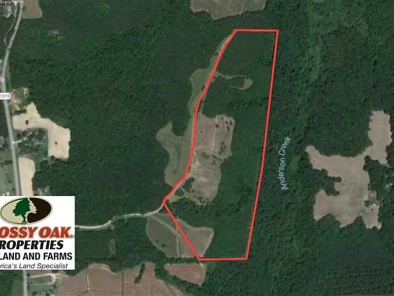 Under Contract, 47.06 Acres of Hu : Henderson : Vance County : North Carolina