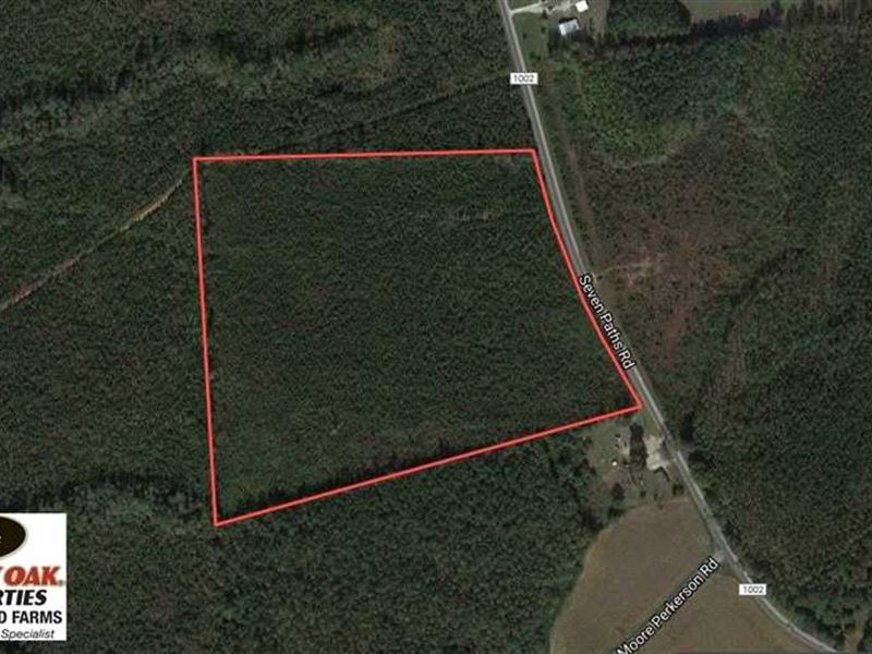 Under Contract, 24.7 Acres of Tim : Spring Hope : Franklin County : North Carolina