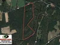 77 Acres of Riverfront Hunting Lan : Spring Hope : Nash County : North Carolina