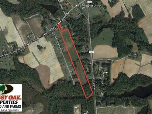Under Contract, 15 Acres of Farm : Red Oak : Nash County : North Carolina