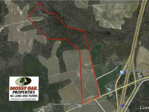 Reduced, Farm And Hunting Land For : Enfield : Halifax County : North Carolina