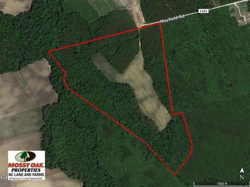Under Contract, 75.5 Acre Farm an : Trenton : Jones County : North Carolina