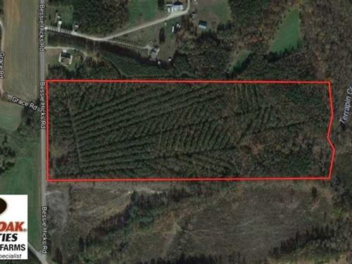 Reduced, 30 Acres of Hunting And : Norlina : Warren County : North Carolina