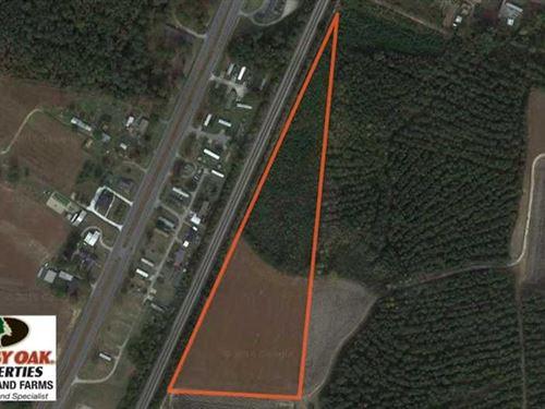 Reduced, 11.75 Acres of Recreatio : Elm City : Wilson County : North Carolina