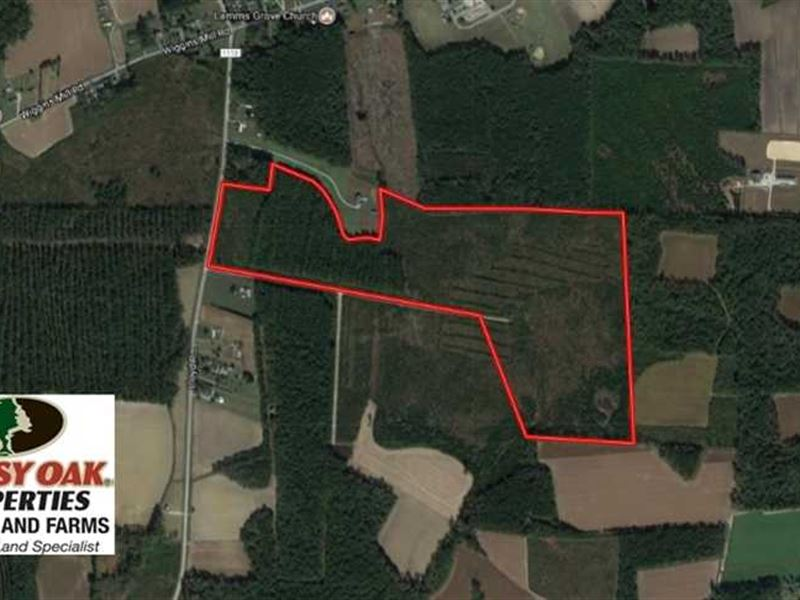 Under Contract, 86.59 Acres of Ti : Lucama : Wilson County : North Carolina