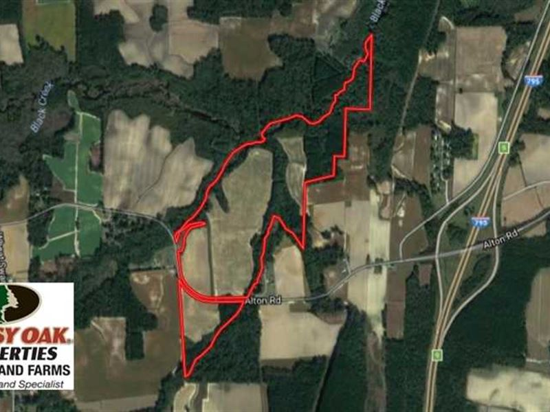 Reduced, 128.25 Acres of Farm And : Lucama : Wilson County : North Carolina