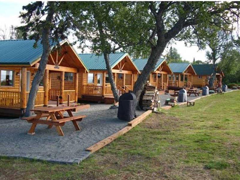 New Price Cabins ON The Bluff 24 : Clam Gulch : Kenai Peninsula Borough : Alaska