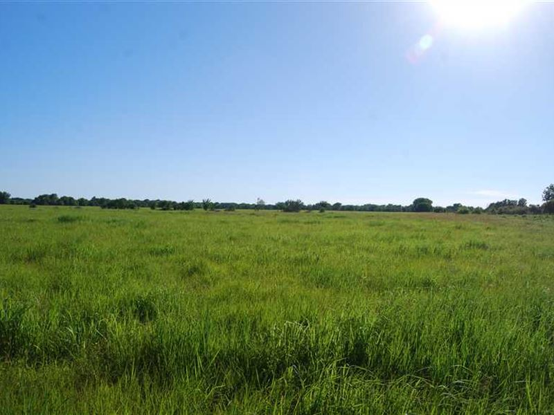 83 Acres of Ranchland With Hunting : Savonburg : Neosho County : Kansas