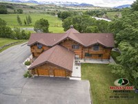 Four Bedroom, Six Bath Home on 42 : Cody : Park County : Wyoming