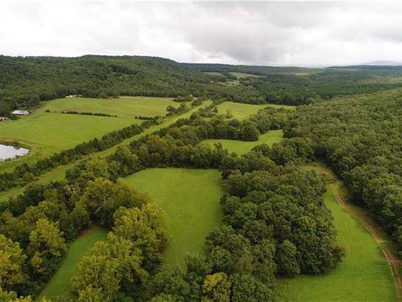 455 Acres Cedarville, AR : Cedarville : Crawford County : Arkansas