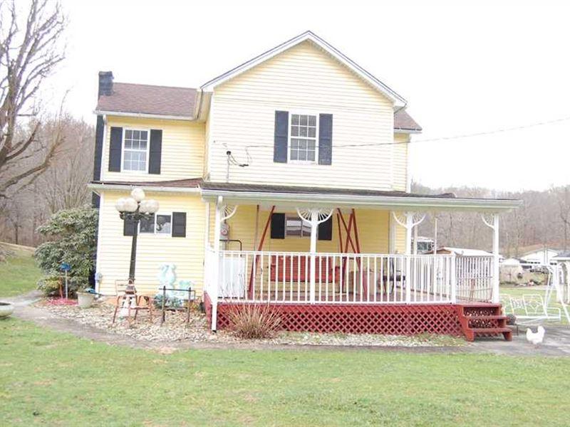Swisher Ridge Rd - 47 Acres - Gall : Bidwell : Gallia County : Ohio