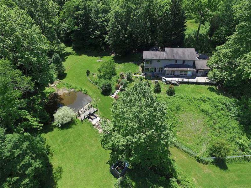Dutch Creek Rd - 171 Acres - Athens : Athens : Athens County : Ohio