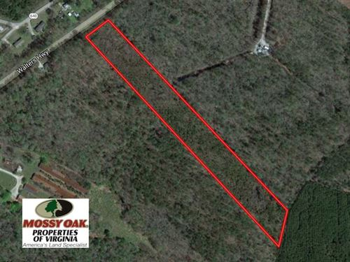 10 Acres of Residential Hunting La : Windsor : Isle Of Wight County : Virginia