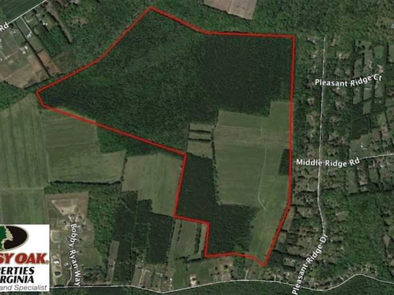 269 Acres of Development Land For : Chesapeake : Chesapeake County : Virginia