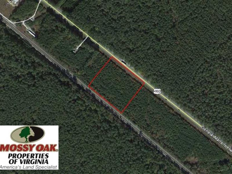 5 Acres of Residential And Commerc : Waverly : Sussex County : Virginia
