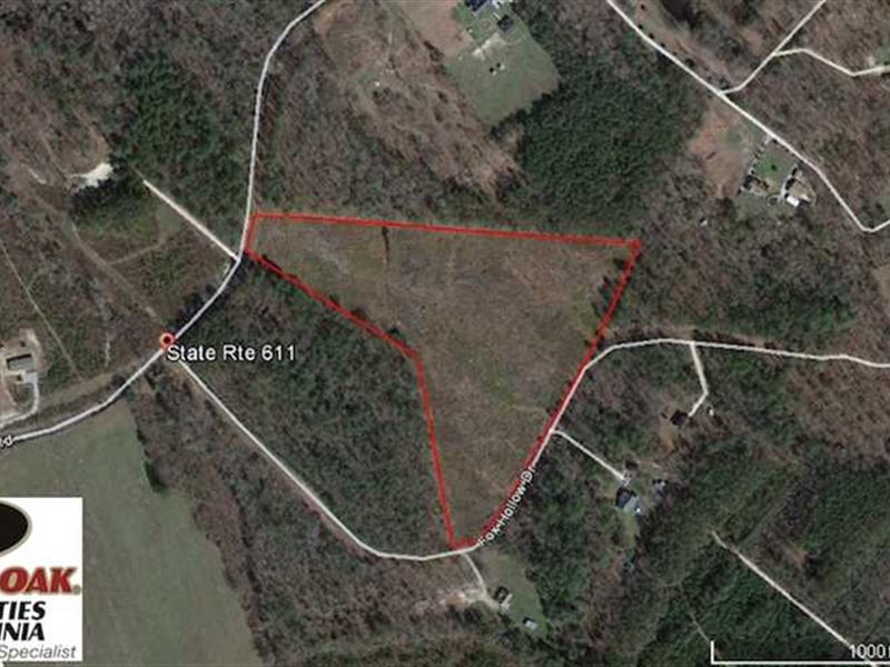 Reduced, 13.55 Acres of Residenti : Spring Grove : Prince George County : Virginia