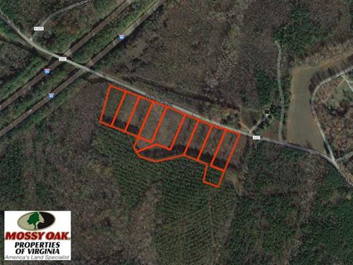 11 Acres of Residential Land For : South Hill : Brunswick County : Virginia