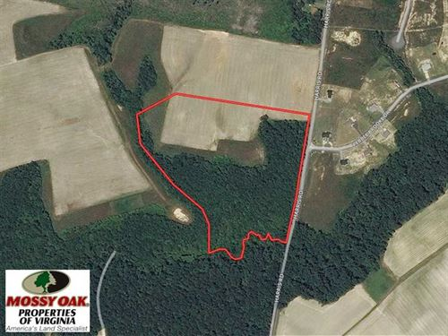 Under Contract, 20 Acres of Hunti : Sedley : Southampton County : Virginia