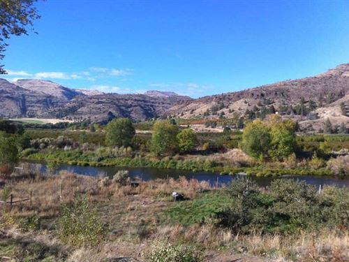 11 Acres on River With Orchard in : Kimberly : Grant County : Oregon