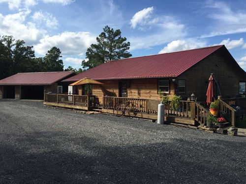 Price Reduced, 22.7 Acres & Be : Leslie : Searcy County : Arkansas