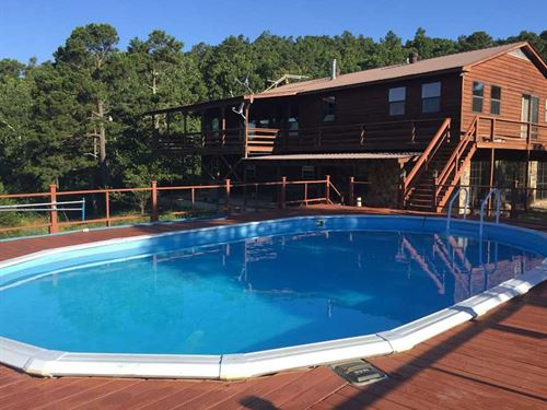 3600 Sq.Ft. Home Secluded on 5 Acr : Marshall : Searcy County : Arkansas
