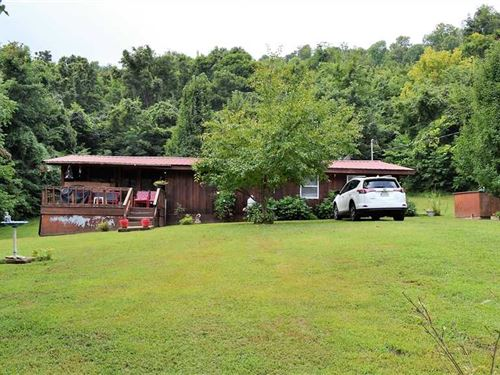 Cabin in The Dongola Area of Marsh : Marshall : Searcy County : Arkansas